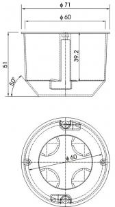 alçıpan duvar anahtar kasası teknik çizim