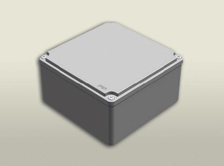 aluminyum buat 160 160 90 mm