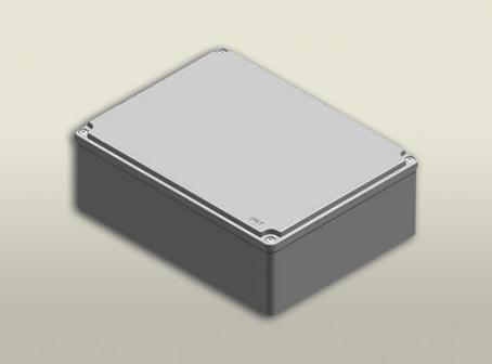 aluminyum buat 190 250 90 mm
