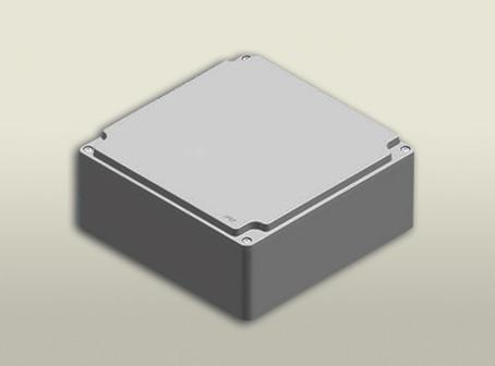 aluminyum buat 250 250 110 mm
