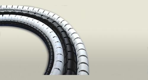 kablo toplama spirali halogen free boru
