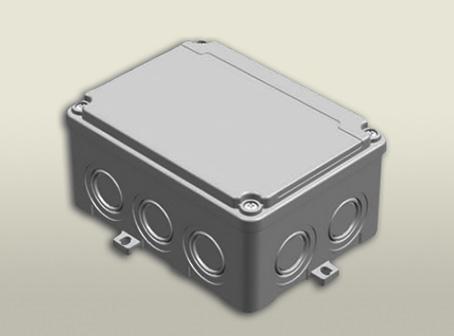 termoplastik buat 110 150 70 mm vidalı kapak