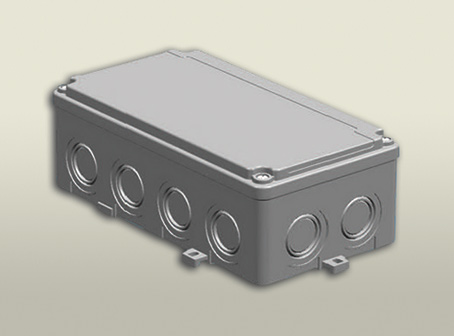 termoplastik buat 110 210 70 mm vidalı kapak