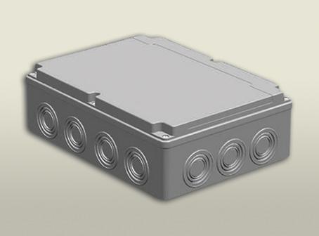 termoplastik buat 210 290 90 mm vidalı kapak